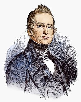 LOUIS JOSEPH PAPINEAU (1786-1871). Canadian politician. Drawing by C.W. Jefferys