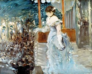 MANET: CAFE-CONCERT, 1879. Oil on canvas by Edouard Manet, 1879.