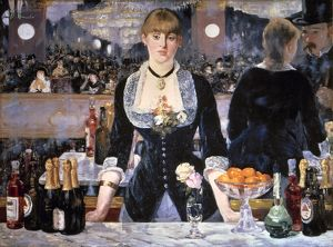 manet folies bergeres the bar at folies bergeres
