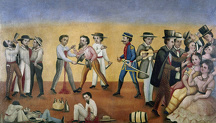 food drink/mexico satire c1850 esta es la vida this