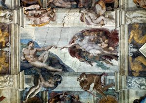 adam eve/michelangelo adam creation adam sistine chapel