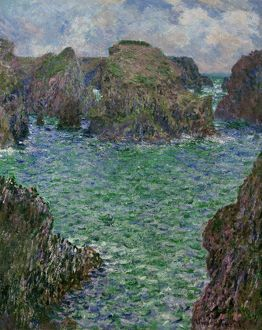 MONET: PORT-GOULPHAR, 1887. 'Port-Goulphar, Belle-Ile