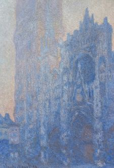 MONET: ROUEN CATHEDRAL. 'Rouen Cathedral Facade and Tour d'Albane (Morning Effect)