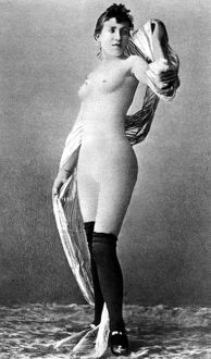erotica/nude posing c1888 nude study french dancer known