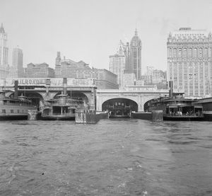 whats new/nyc ferries 1939 ferry terminals east river