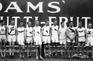OLYMPIC GAMES, 1912. American Olympic team at the 5th Olympic Games, held in Stockholm