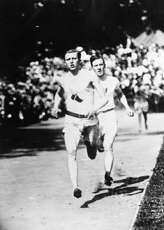 Paul Pilgrim, U.S. winner in the 400 and 800 meters events at the 1906 Olympics at Athens