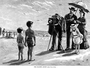 beach/photography 1877 the seaside artist wood
