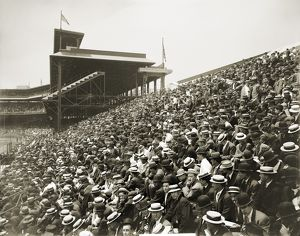 baseball/pittsburgh forbes field crowd bleachers section