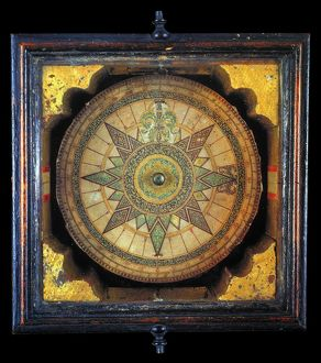 end world/portuguese compass 1711 earliest surviving portuguese