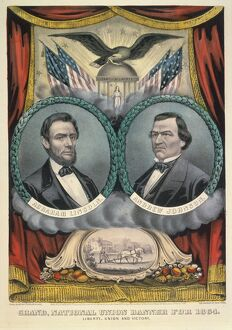 american civil war/presidential campaign 1864 abraham lincoln andrew