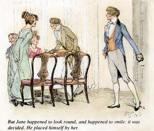 PRIDE & PREJUDICE, 1894. 'But Jane happened to look round, and happened to smile