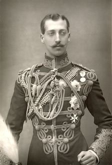 PRINCE ALBERT VICTOR. (1864-1892). Duke of Clarence and Avondale