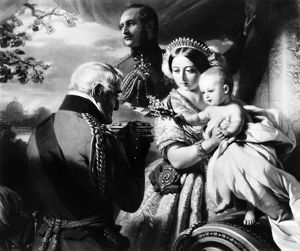 QUEEN VICTORIA & SON. 'First of May, 1851.' Arthur, the Duke of Connaught