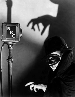 RADIO SHOW: THE SHADOW. A widely reproduced publicity photograph for the enormously