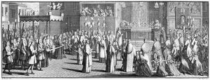 RELIGION: CORPUS CHRISTI. 'The Procession of ye B. Sacrament on Corpus Christi-Day