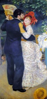 RENOIR: DANCING, 1883. 'Dancing in the Country