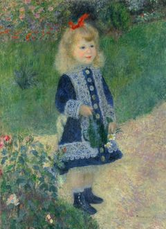 RENOIR: GIRL, 1876. 'Girl with a Watering Can