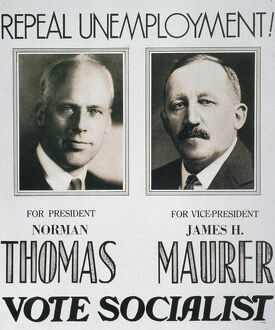 Repeal Unemployment!: Norman Thomas and James H