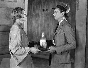 THE SALVATION HUNTERS, 1925. A scene from the film written and directed by Josef