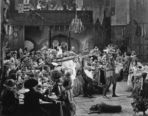 A scene from 'Dorothy Vernon of Haddon Hall', 1924.