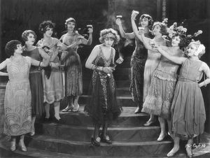 Scene from the silent film starring Doris Kenyon.