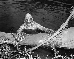 SEA MONSTER, 1953. Ricou Browning as Gill Man in 'The Creature from the Black Lagoon&#39