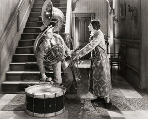SILENT FILM STILL: MUSIC. Scene with Charles 'Buddy' Rogers.