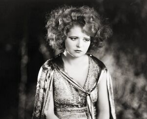SILENT FILM STILL: WOMAN. Clara Bow in 'Three Week Ends,' 1928.