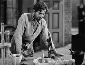 SILENT STILL: LABORATORIES. Warner Baxter as Dr. Samuel Mudd, 'The Prisoner of Shark Island,' 1936.