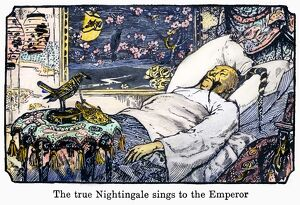 'The true nightingale sings to the Emperor