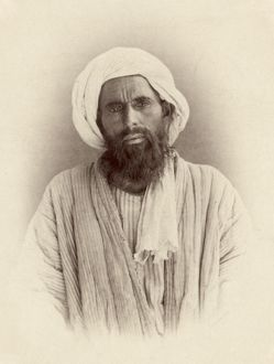 TURKESTAN: DZHUGI, c1865. A Dzhugi man of Turkestan. Photographed c1865-1872