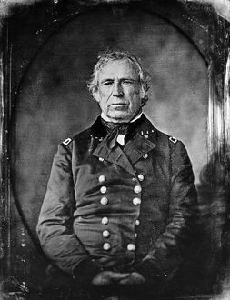 Twelfth President of the United States. Daguerreotype, c1848, by Southworth & Hawes.