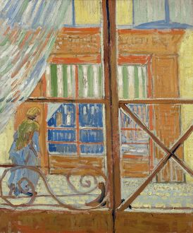 VAN GOGH: BUTCHER'S SHOP. Oil on canvas, Vincent van Gogh, February 1888