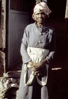 VIRGIN ISLANDS: FARMER, 1941. Borrower in the Farm Service Agency loan program, St