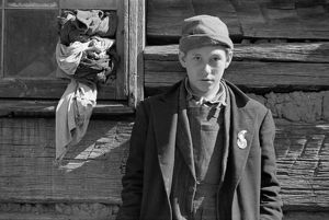 VIRGINIA: BOY, 1935. Portrait of one of Dicee Corbin's children, at Shenandoah