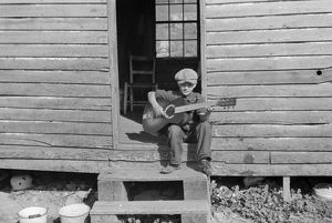 VIRGINIA: BOY, 1935. The son of a squatter in Corbin Hollow, Shenandoah National Park
