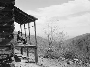 VIRGINIA: CORBIN HOLLOW, 1935. View of Corbin Hollow, Shenandoah National Park