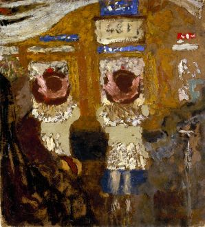 VUILLARD: IN THE BUS, c1895