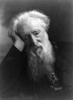 WILLIAM BOOTH (1829-1912). English religious leader and founder of Salvation Army