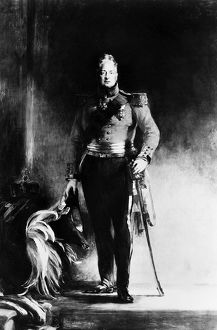 WILLIAM IV (1765-1837). King of Great Britain and Ireland, 1830-1837. Oil on canvas