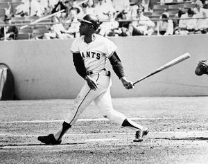 WILLIE MAYS (1931- ). American professional baseball player