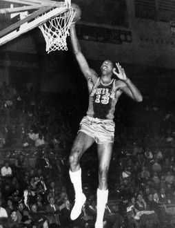WILT CHAMBERLAIN (1936-1996). American basketball player