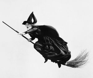 WITCH, 20th CENTURY. A modern personification of a witch.